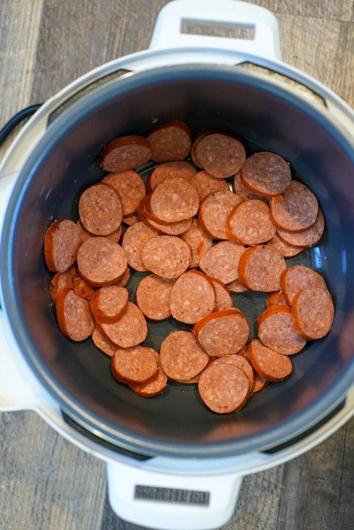 instant pot sausage