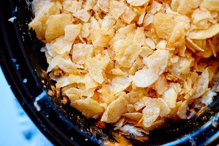 slow cooker funeral potato recipe