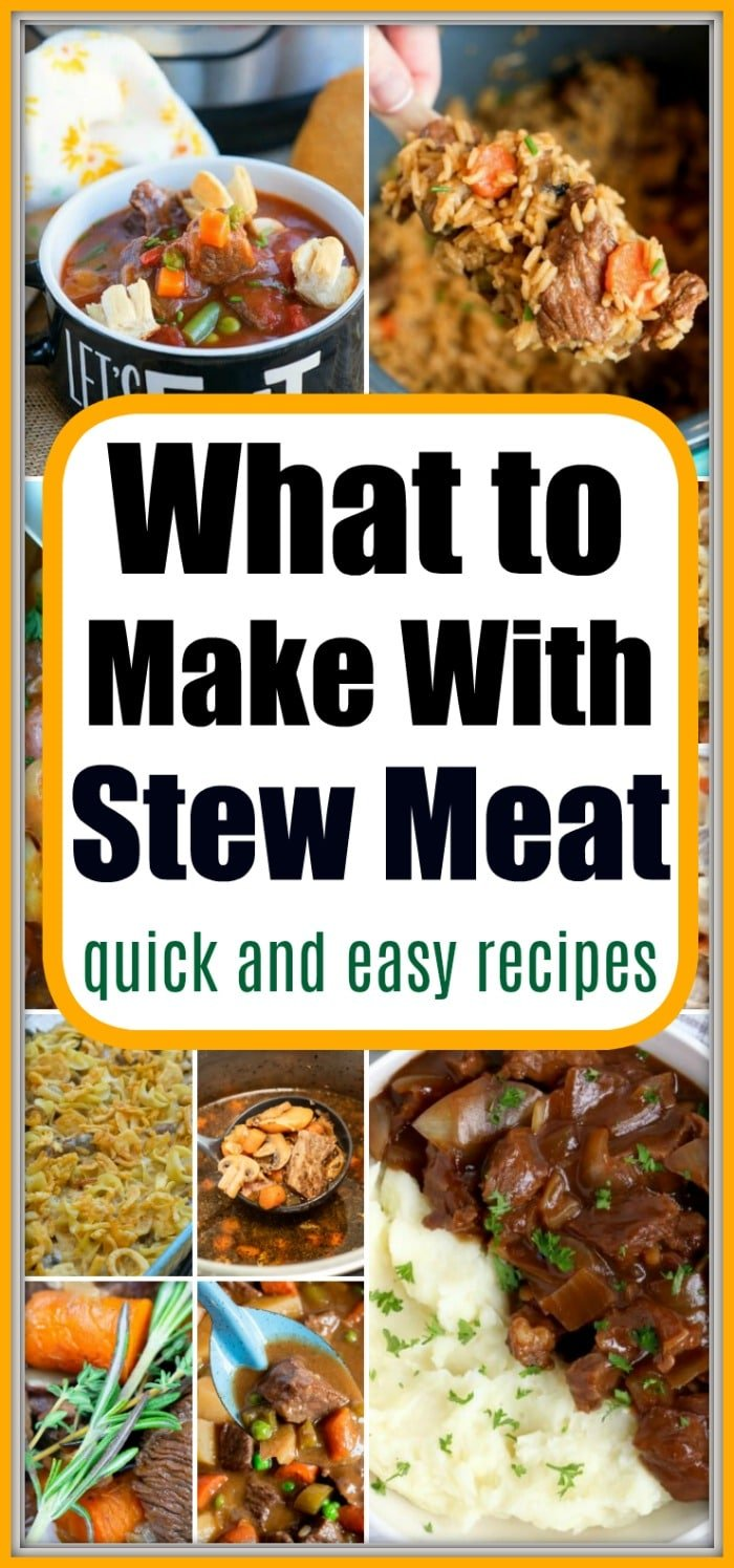 Recipes Using Beef Stew Meat