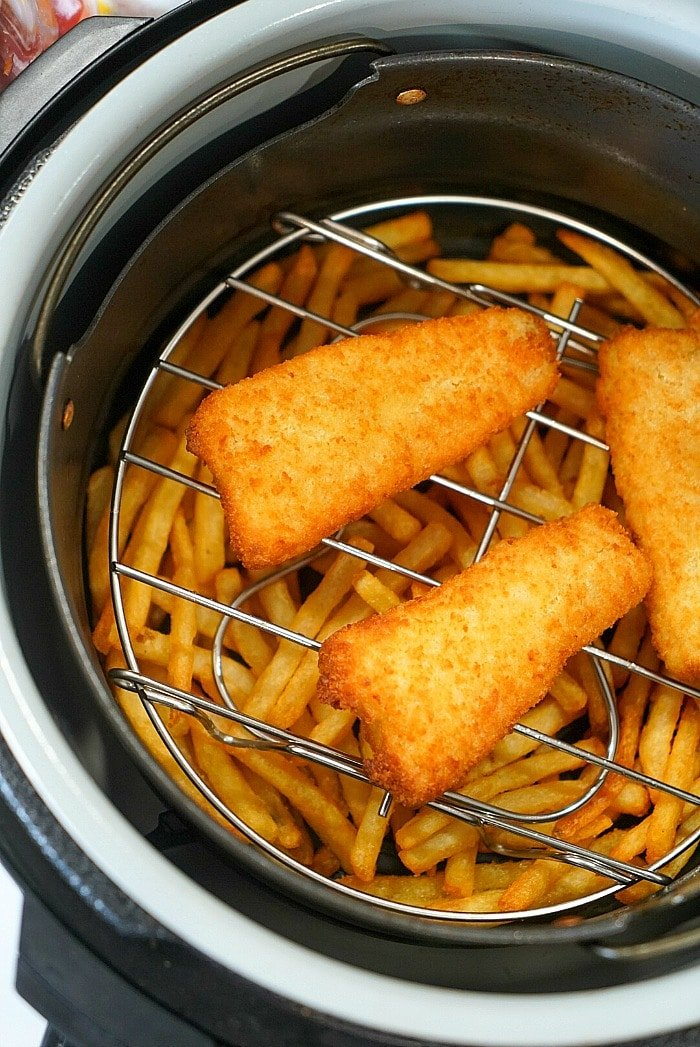 air fryer fish and chips