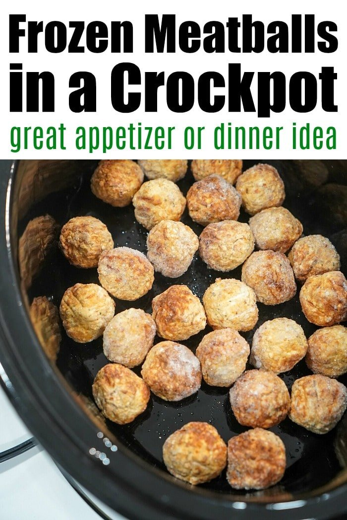 Tender Frozen Meatballs In Crockpot The Typical Mom