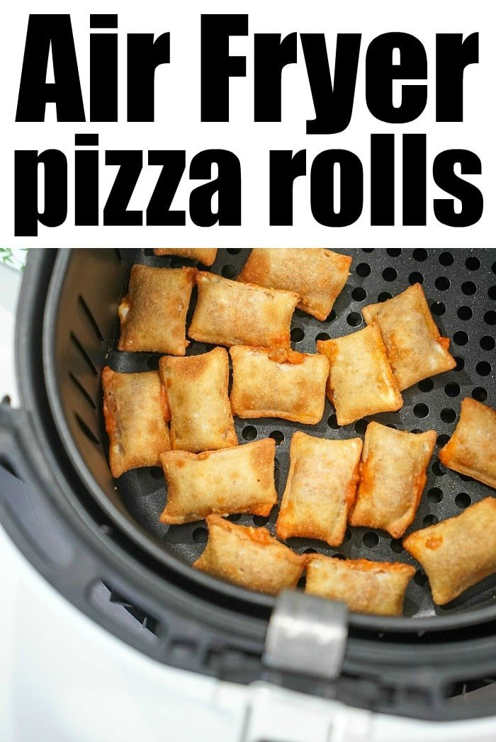 frozen pizza rolls in the air fryer