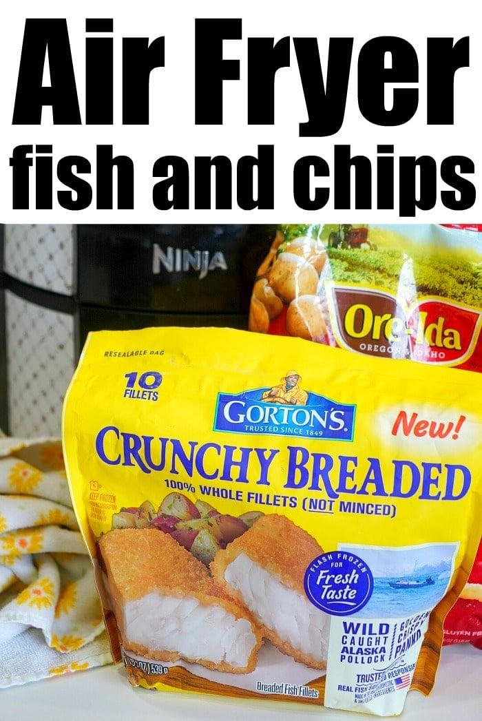 ninja foodi fish and chips