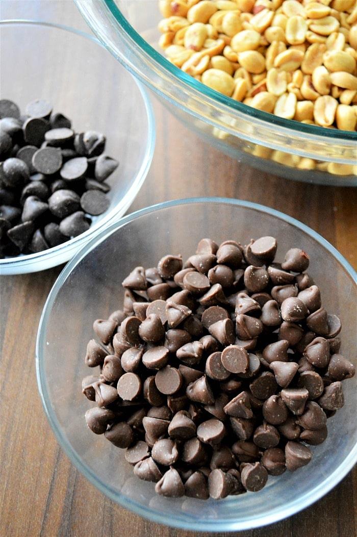 peanut cluster recipe