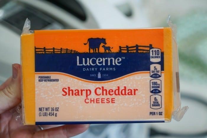 sharp cheese