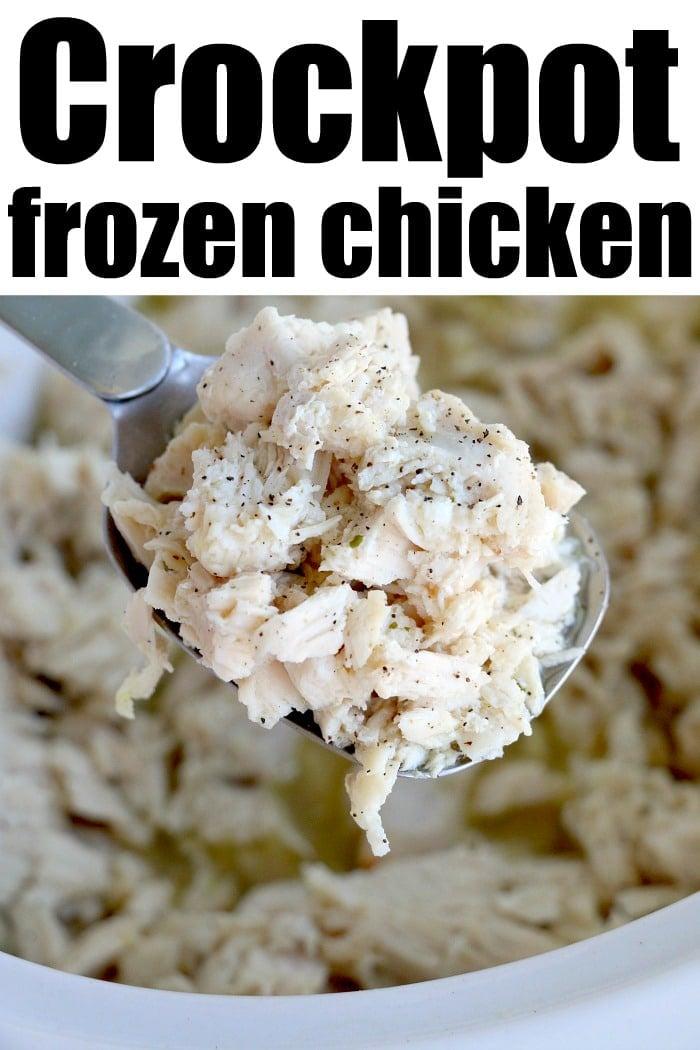 shredded chicken crockpot