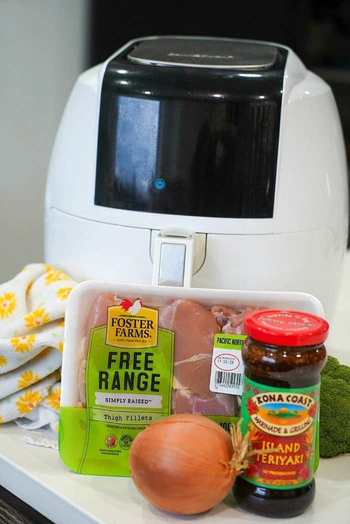 teriyaki chicken air fryer