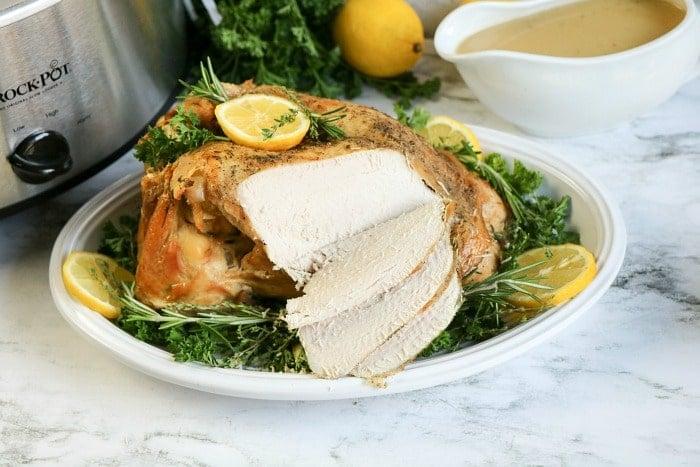 turkey breast in crockpot