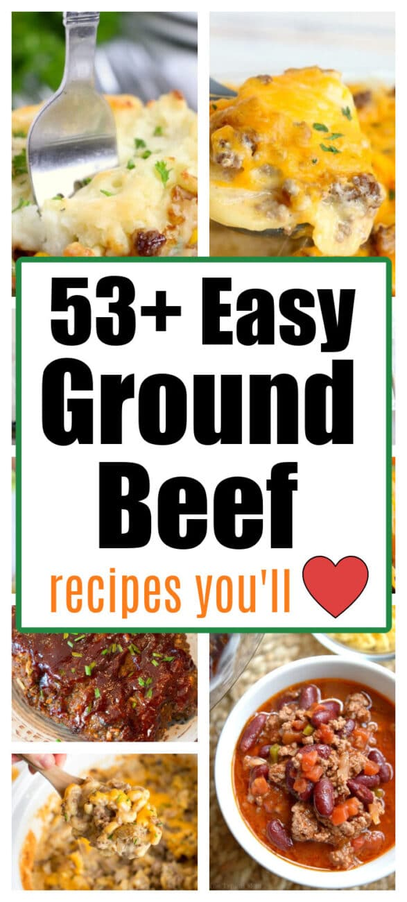 what to cook with ground beef