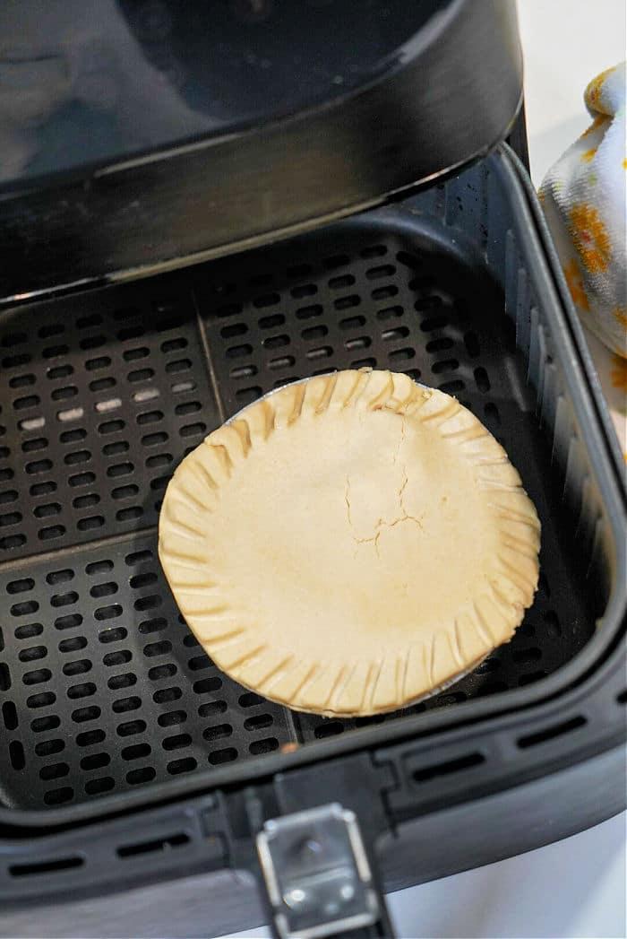 Frozen Pot Pie in Air Fryer