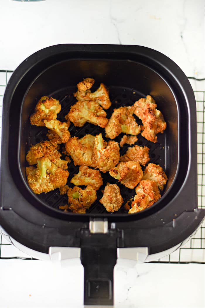 air fryer cauliflower wings recipe