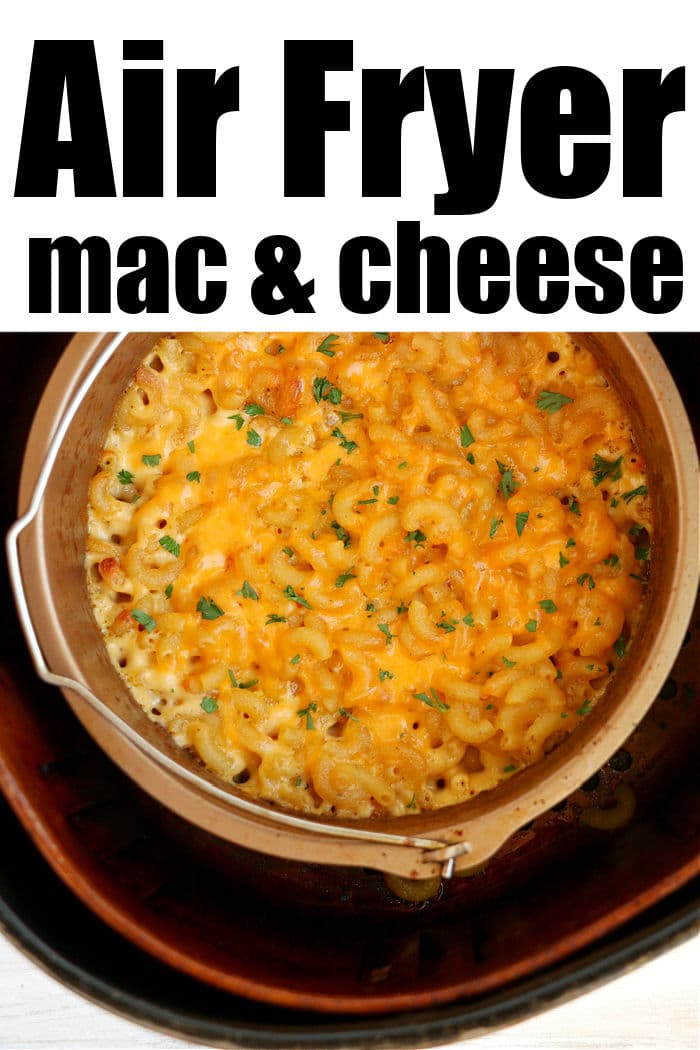 air fryer macaroni and cheese