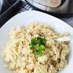 instant pot risotto recipe