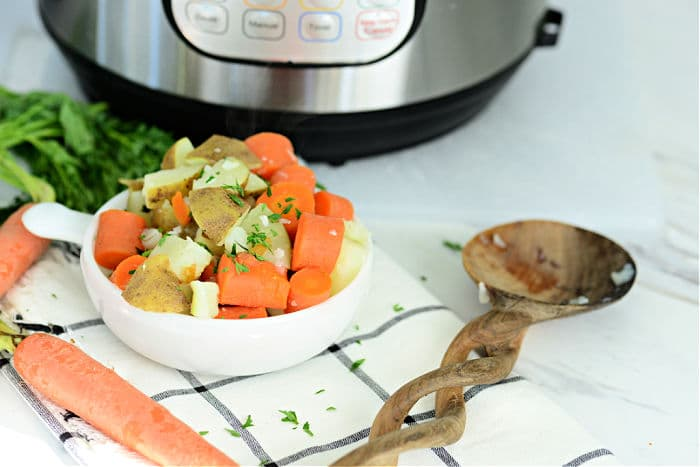 ninja foodi carrots and potatoes