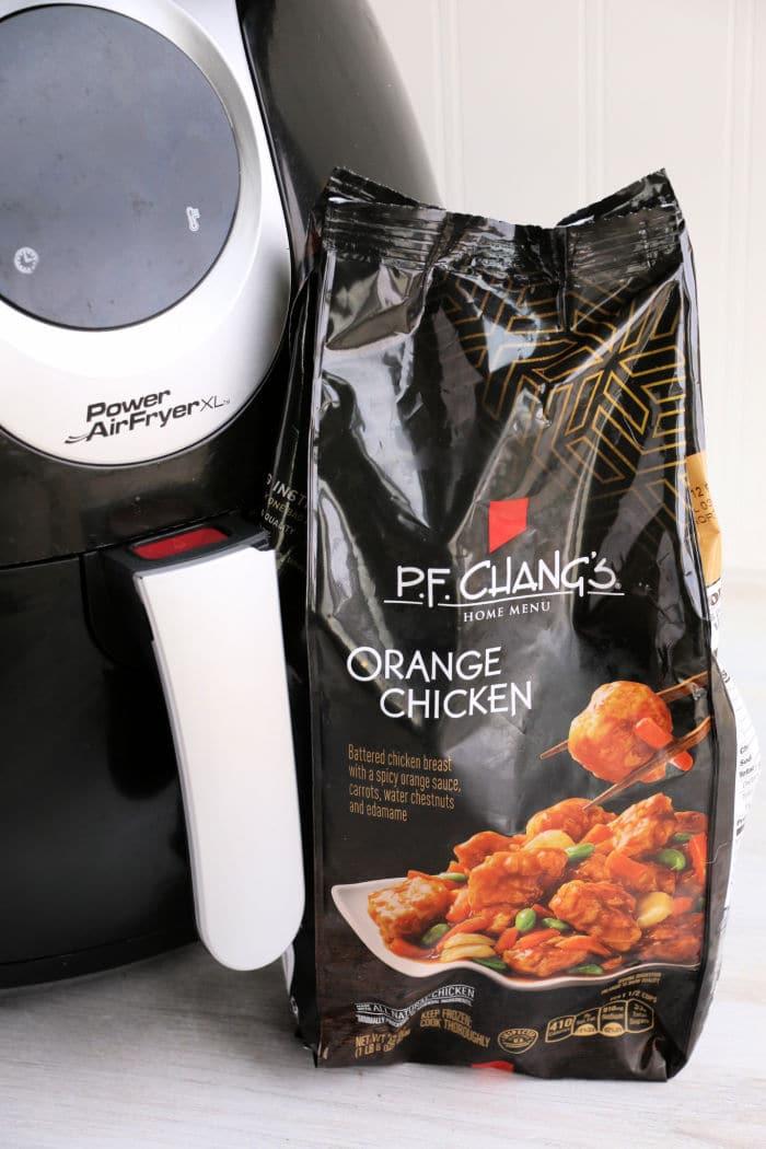 orange chicken air fryer