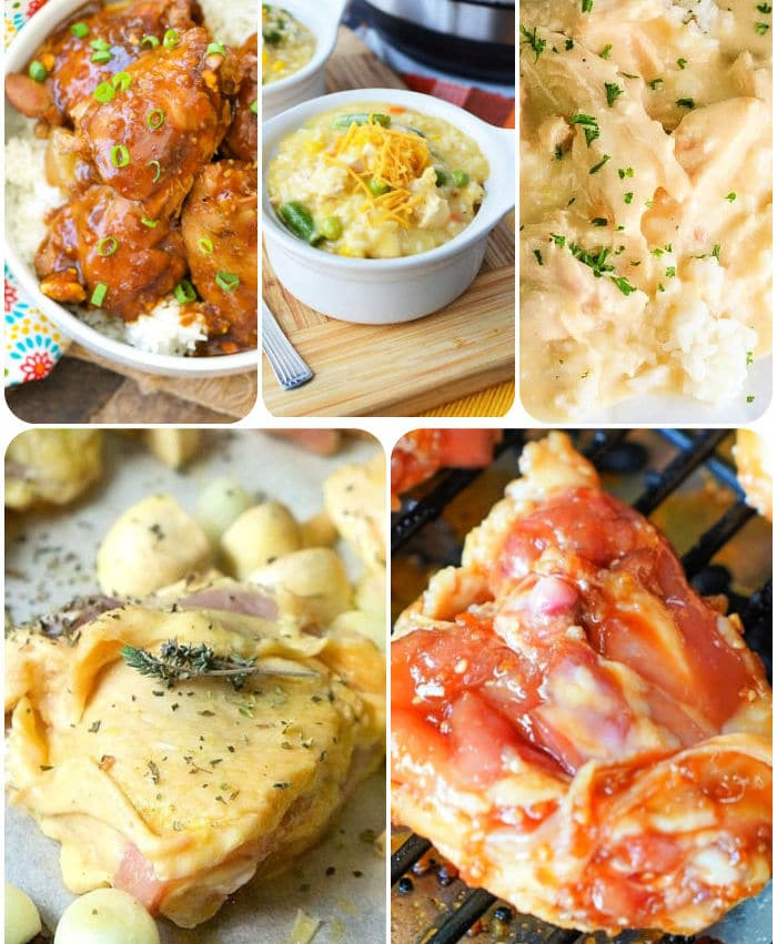 quick chicken thigh recipes