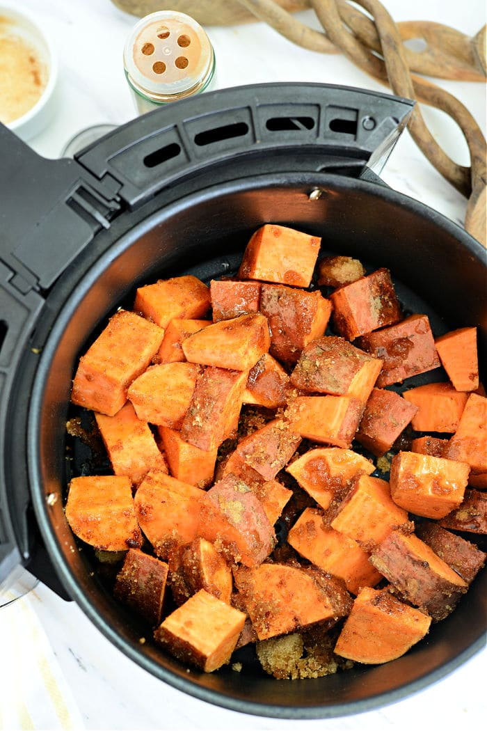 Air Fryer Sweet Potato Wedges
