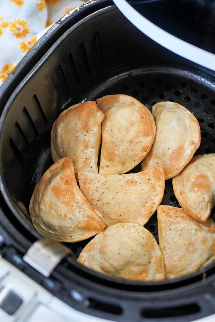 Air Fryer frozen Perogies