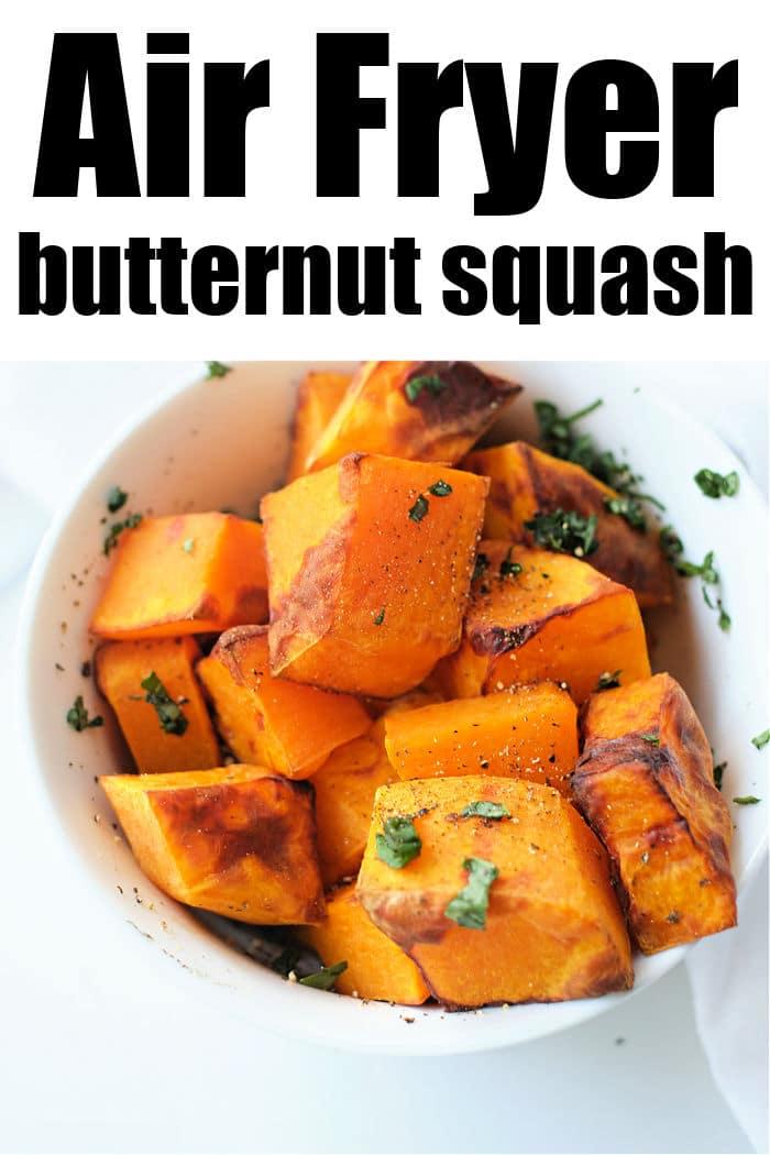 Butternut Squash air fryer