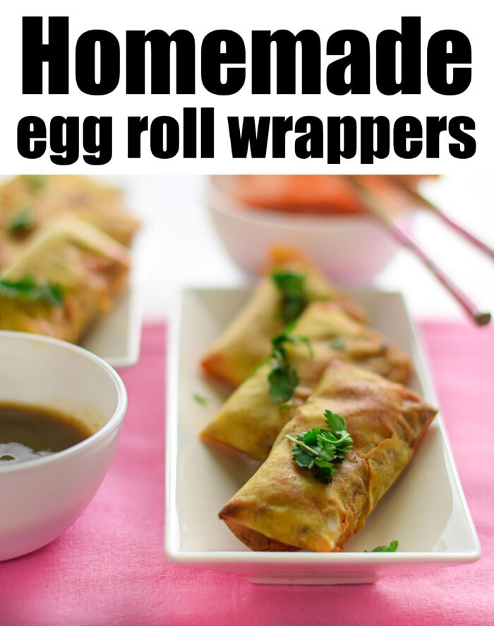 Homemade Egg Roll Wrappers