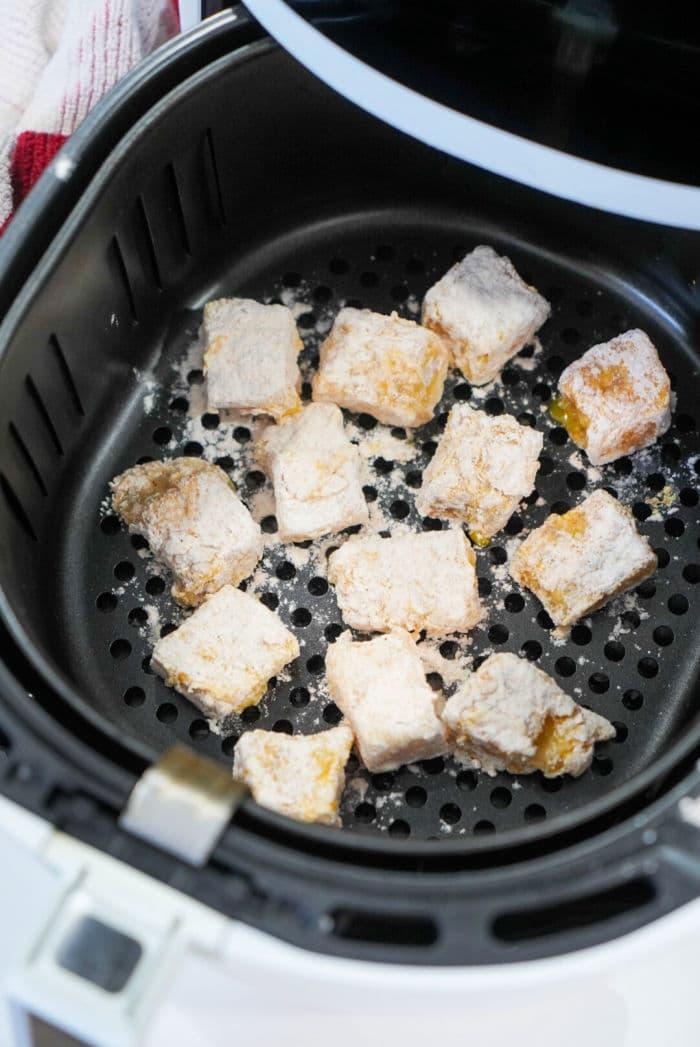 air fryer fish bites