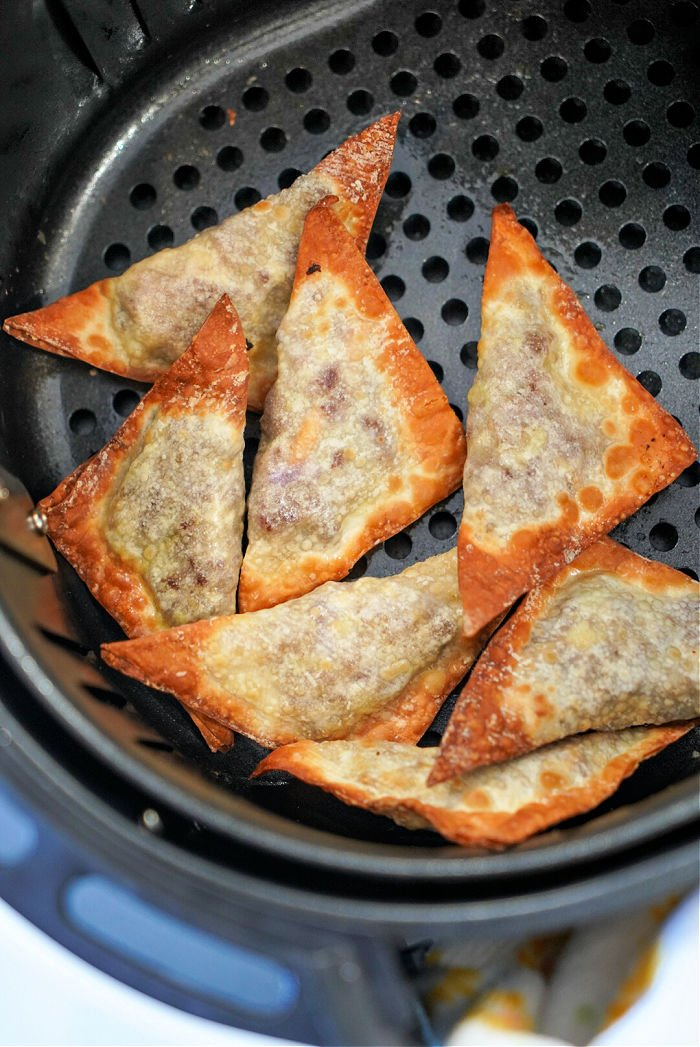 air fryer won tons recipe