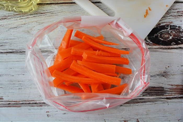 carrot fries in air fryer