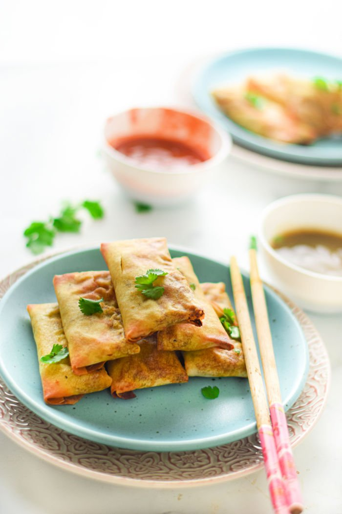 egg rolls in air fryer