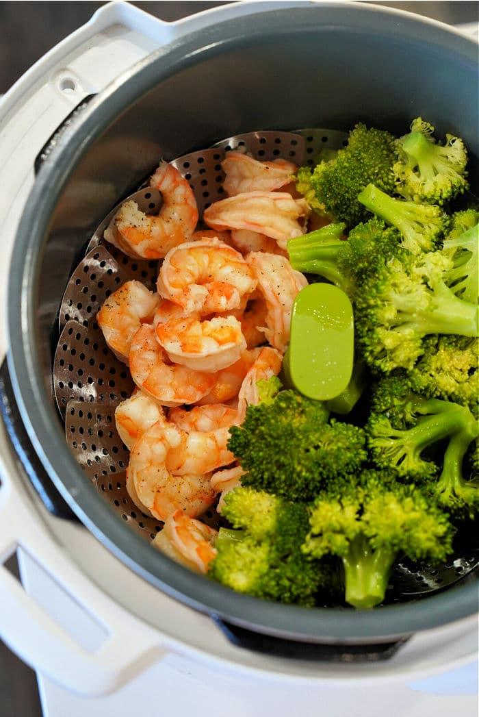 instant pot shrimp and broccoli