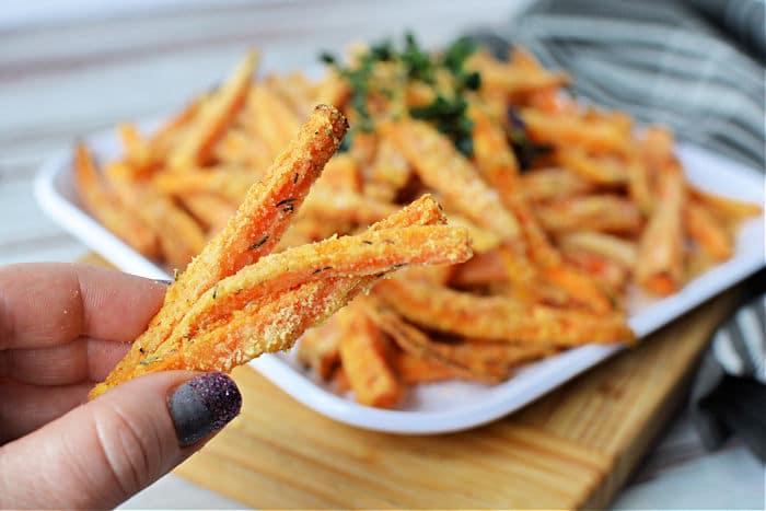 ninja foodi carrot fries