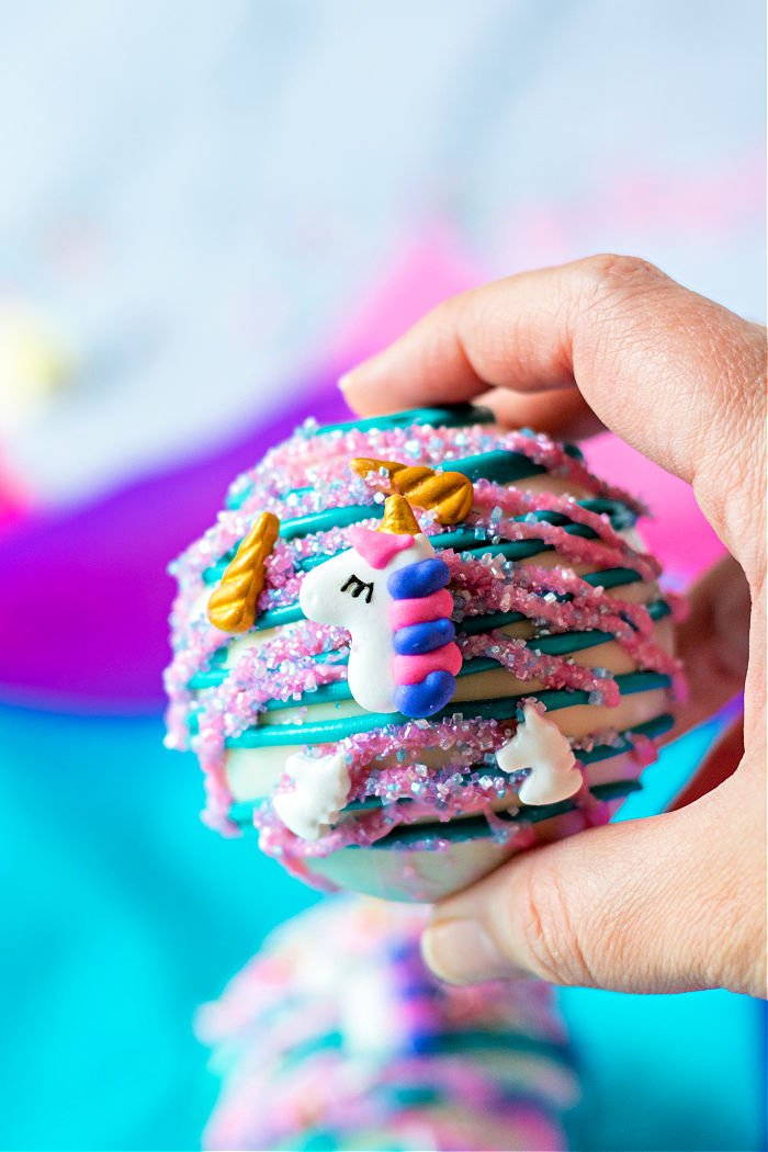 unicorn Hot Chocolate Balls