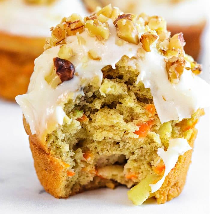Apple Carrot Muffin