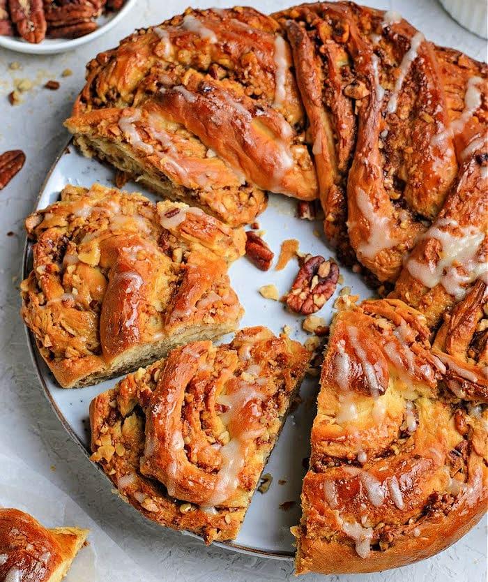 Bread Wreath recipe