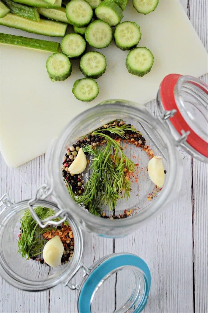 Homemade Pickles recipe