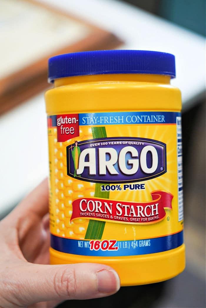 cornstarch to thicken