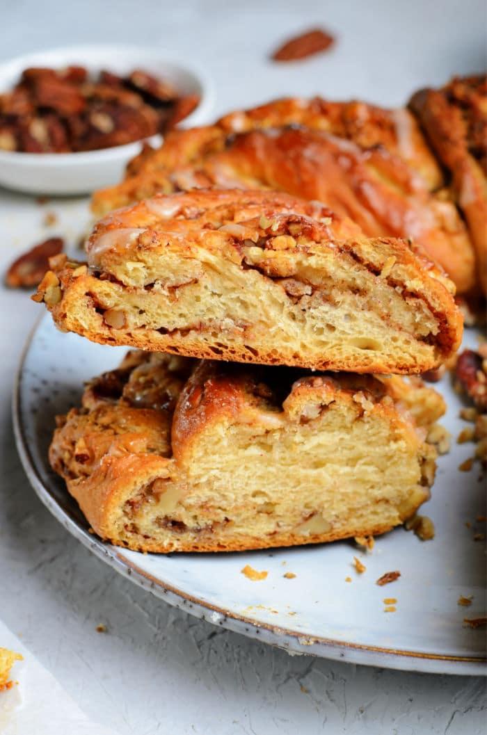 homemade wreath bread recipe