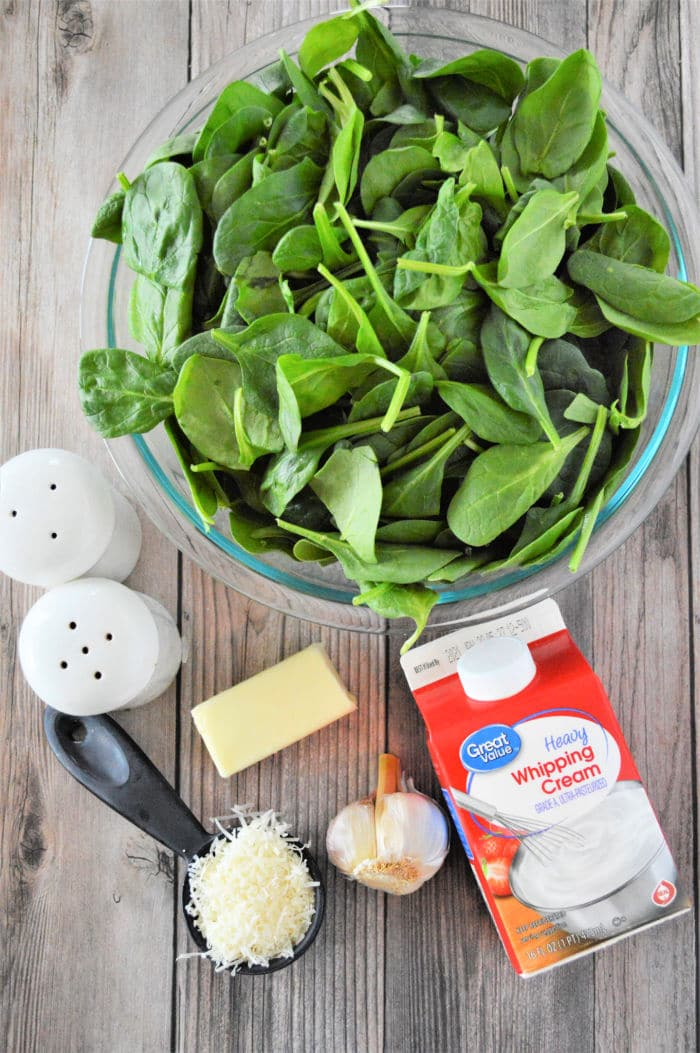 how to make creamed spinach