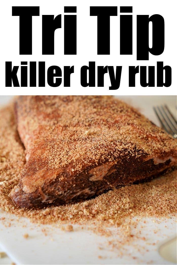 tri tip dry rub recipe