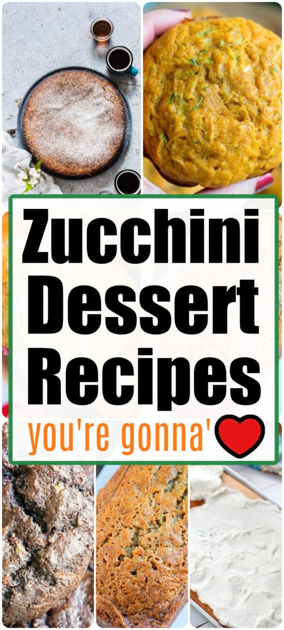 zucchini dessert recipes