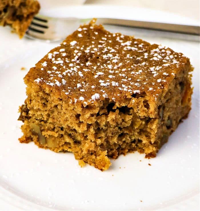 Applesauce Spice Cake recipe