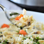 Instant Pot Chicken Rice Soup recipe