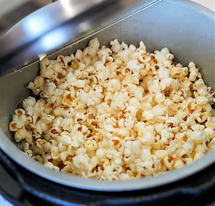 Ninja Foodi Popcorn recipe