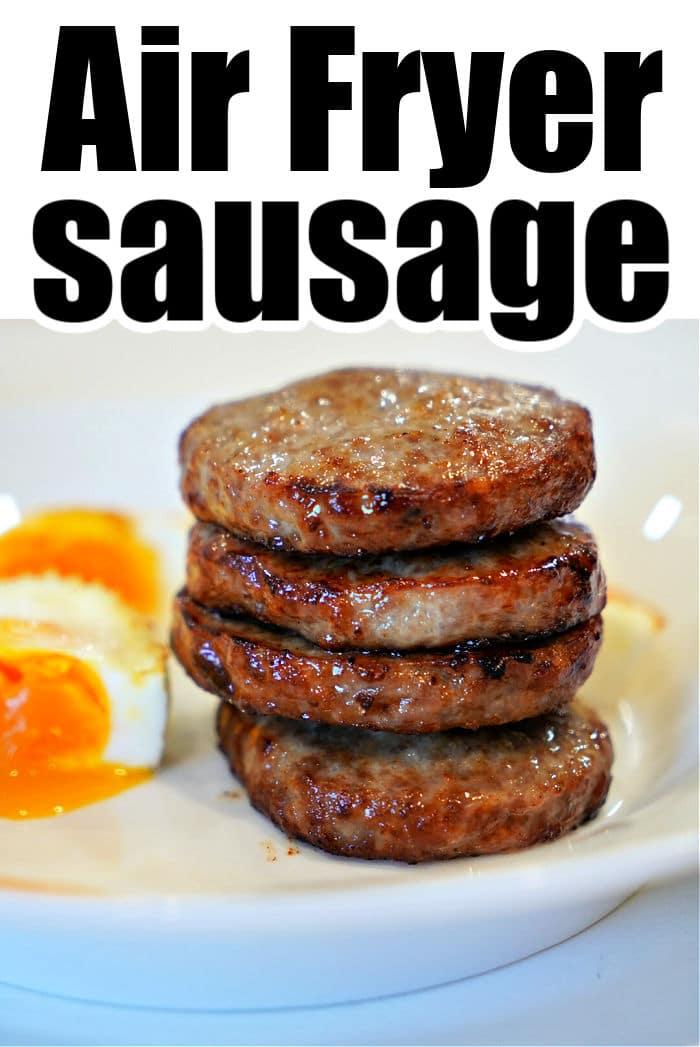 Sausage Patties in Air Fryer