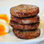 Sausage Patty in Air Fryer