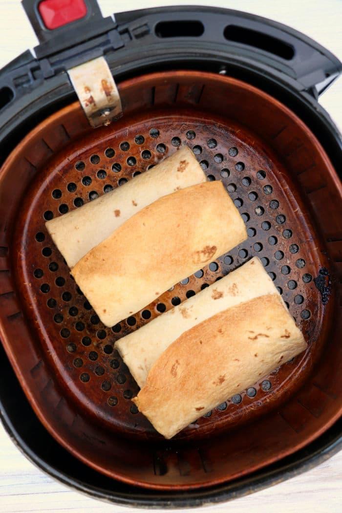 air fryer burritos