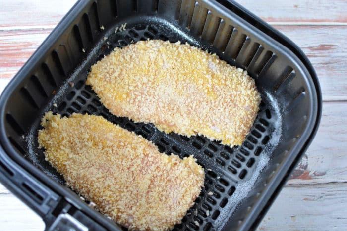 chicken cutlets in air fryer