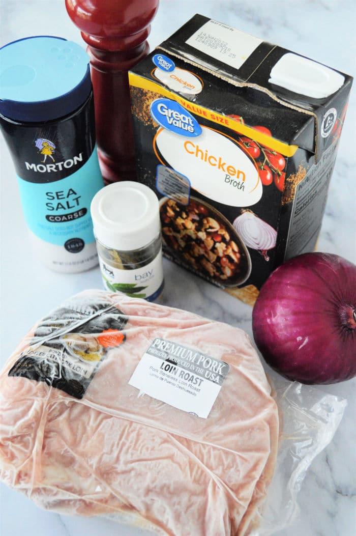 frozen pork roast in pressure cooker