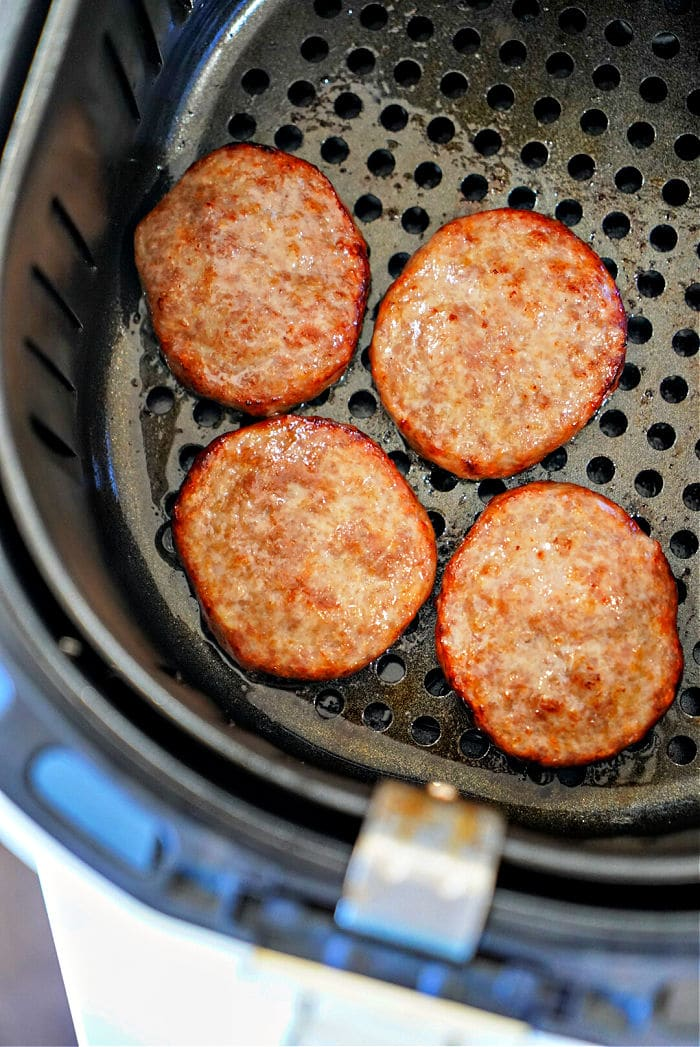 how to cook sausage patties in air fryer