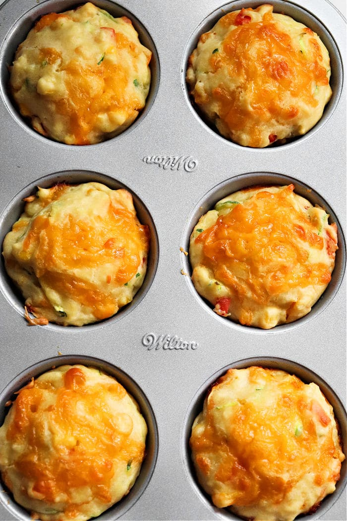veggies made great muffins