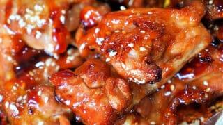 Baked Teriyaki Chicken Thighs